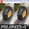wheelbarrow wheel/trolley wheel/industrial wheel 4.10/3.50-4