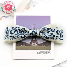 Y106 Handmade boutique western hair bow for girls