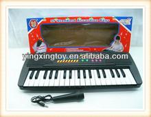 Kids plastic musical instrument electronic organ keyboard