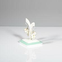 Handmade unique jewelry display piercedtree shaped earring holder