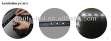 contour test strip plastic desk edging strip