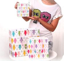 2014 promotion paper bag / fancy paper gift bag / cheap kraft paper cement shopping packaging bag