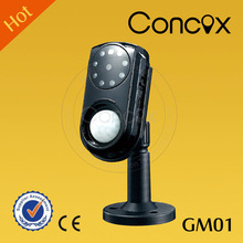 Concox two way intercom system first night hidden camera videos GM01 remote monitoring alarm system for home surveillance
