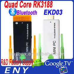 Mini pc quad-core android 4.2 mini tv dongle