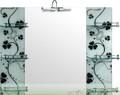 الساخنة-- بيع المعاصرة أزياء مزهر شكل مرآة الحائط