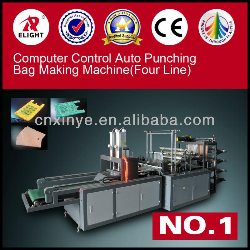 China Latest, Automatic Plastic Bag Making Machines(U CUT Bag and D CUT Bag)