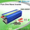 Pure sine wave power inverter dc 12v ac 220v 3000w ups inverter battery charger battery