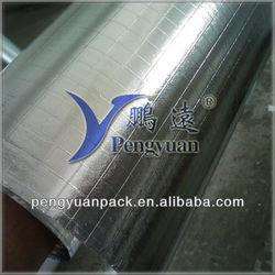 Aluminum Foil Faced Scrim Kraft Radiant Barrier Foil For Glass Batts Insulation
