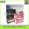 Fashion fashionable cheap shoulder shiny pvc tote bag