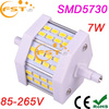 High quality factory direct sale 7W R7s led lamp bulb SMD5730 85-265V 700lm 200degree