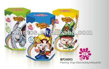 lantos 45g venta caliente llena de dibujos animados de galletas