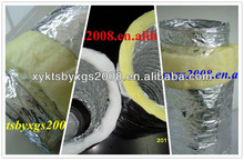 Double layer Insulated Flexible Duct OEM( Glass Wool Insulation)