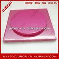 1/2thick ronda de la boda de color rosa pastel de tambor