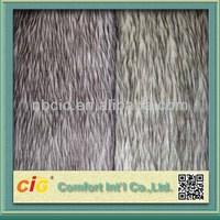 100% Polyester Fake Fur Fabric