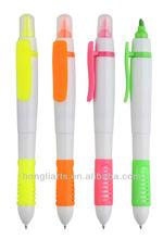 Doouble end highlighter pen