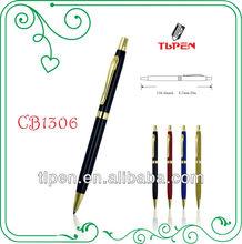 Black promotional pen, China stationery pen,office supply pen CB1306
