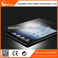 Factory price 9H Anti scratch anti fingerprint anti-shock tempered glass screen protector for ipad /mini (oem/oem)