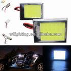 China Manufacture New COB Dome light auto led dome light with T10 /Adjustive Festoon/BA9S
