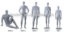 Loutoff original Male,Child,Female manequins gray finish