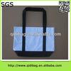 Good quality newest 16oz canvas tote bag leather handbag