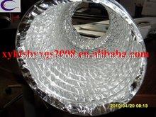 GREY SINGLE LAYER COMBI PVC FLEXIBLE VENT DUCTING OEM