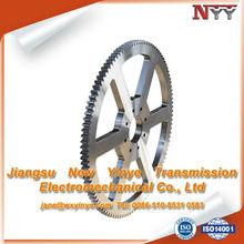 teeth grinding alloy steel spur gear wheel