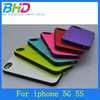 Double color soft cell phone case for iphone 5