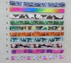 Custom printed cheap elastic headbands