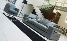 Modern Design, Top Grain Leather, 1+2+3 French / European Style Sofa Set teak wood sofa sets 9098-1Z