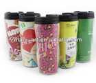 Hot Sale Double Wall Plastic Mug &Starbuck Coffee Mug & Promotional mug