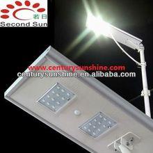 18W cheapest solar street light LED lamp with battery backup