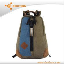 Fashion outdoor canvas school bag wholesale