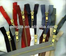 "28"" Brass #5 Jacket Zipper Black Beige Brown Grey Navy Blue Green Olive Red Whit"