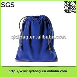 Top grade high-end velvet shopping bag storage organizer
