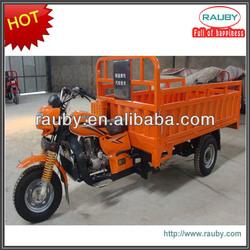 Gasoline China three wheel motorcycle with steering wheel