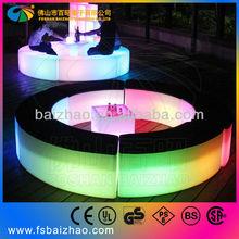LED lighting party wedding used nightclub furniture round sofa