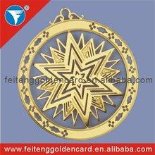 custom design china christmas star 3d hanging ornament wholesale
