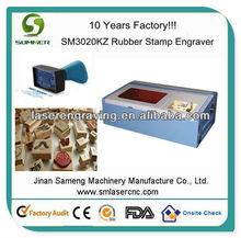 Sm3020kz borracha gravação a laser / máquina de corte