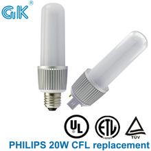 Reemplazar 20 W CFL UL 8 W G24 E27 llevó la iluminación residencial
