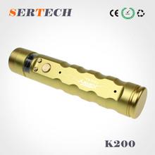 2000mah battery twist 3v to 6v voltages k200 ecig mod zipper case kit
