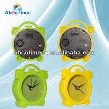 Newest mini silicone alarm clock