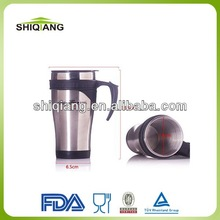 Thermal stainless steel mugs for sublimation logo imprinting BL-5028
