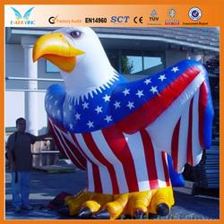 2014 custom made inflatable eagle mascot/ giant inflatable eagle/ inflatable advertising eagle