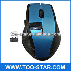 cheap cool optical newly desgin 2.4G wireless mouse