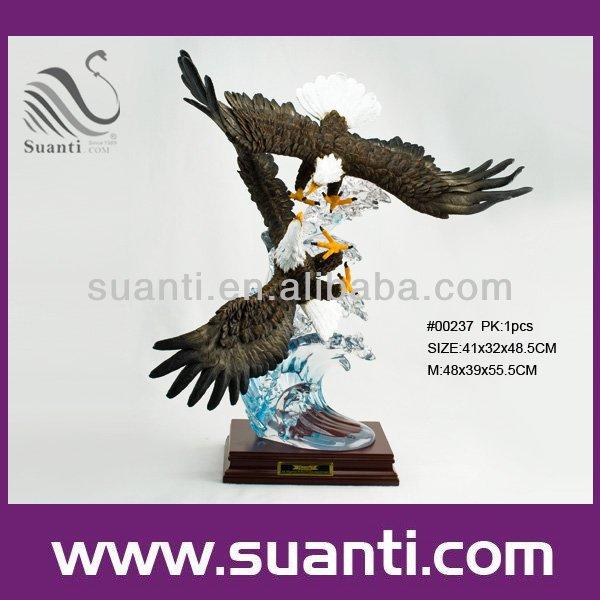 ภาพวาดpolyresinรูปปั้นนกอินทรีขนาดใหญ่