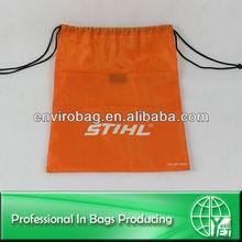 210D Waterproof Drawstring Custom Printed Shoe Bag