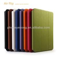 Air Flip leather case for ipad mini ,for ipad mini stand case