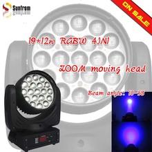 LED Moving Head Light Zoom Aura 19*10W PRO