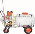 200l tanque branco rodas motor a gasolina pulverizador do poder( wsj- 200lc)
