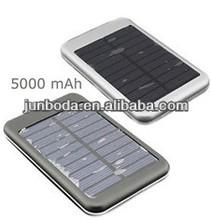 5000mah top seller mobile phone MP3 Camera USB AC power portable solar charger